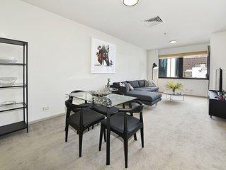 Fully Furnished 1 bedroom Apt 1312/250 Elizabeth St CBD