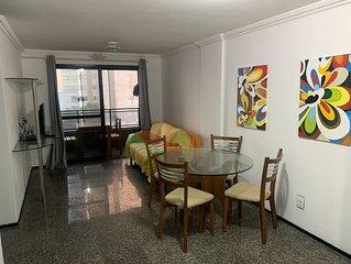 Apto 2 quartos em Petropolis perto da praia e da Praca das Flores
