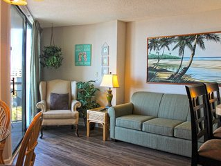 Great views of the Beach! Meridian Plaza  507: 1 BR / 1 BA condo in Myrtle Beach