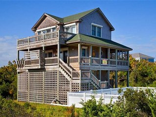 Irresistible Oceanview Home, Waves-Pool, Hot tub, Game Rm, Walk to Barton's Hole