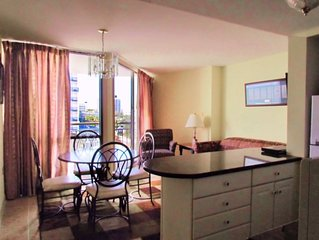 Newly renovated ocean view condo rental!