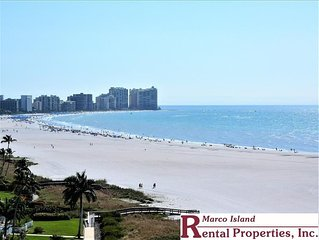 South Seas T3- 512  Beachfront 2 Bed, 2 Bath condo with large balcony and unobst