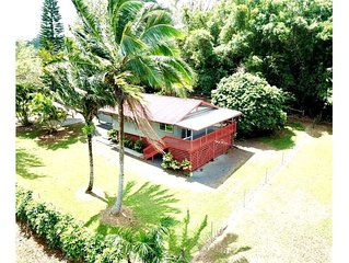 Private home located in tropical setting close to beaches and waterfalls