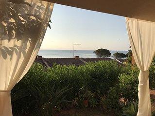 Casa vista mare a Porto Corallo per 8 persone
