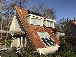 Top Ferienhaus mit Garten, Kamin und Terrasse für 6 Personen