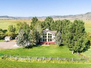 Entire RiverRanch, Mtn View, ParkCity, Ski, Events, Horses, Fish, Sauna, 18acres