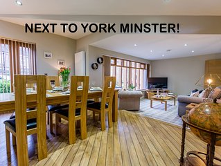 Can you get any closer to York Minster? Only 1 property like this!