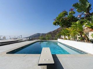 Malibu Modern Pool House