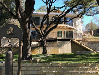 Beautiful remodeled house on Lake Travis gently sloping lot to private dock
