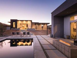 Luxury Desert Retreat with Pool, Spa, and Casita