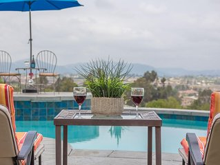 Heart of Wine Country ~ Panaramic Views & POOL!
