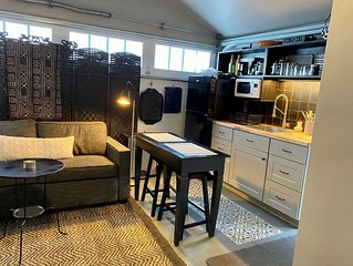Charming Furnished Studio | Rents Monthly Only