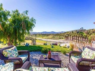 Villa Escala! Wine country ranch property
