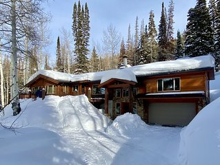 Uinta - Secluded location at Brighton Ski Resort with Hot Tub