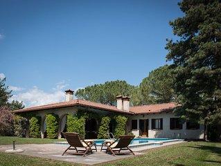 Villa con Piscina e parco-giardino, sulle colline del Prosecco 'CIMA DEL POMER'