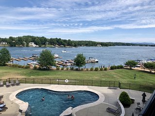 ENJOY THE BEAUTY OF FALL! Super clean, beautiful lake front condo w/views!