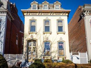 Elegant 3-Suite Mansion in Historic Lafayette Park
