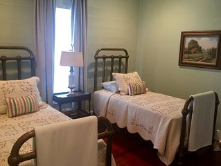 Sugarlumps Guesthouse restored beyond original beauty, Round Top A&M Blue Bell