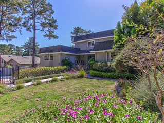 Fantastic and Serene Pebble Beach House with Greatest  Location.