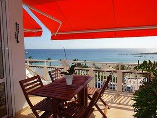 Penthouse sur plage de Las Vistas-Luxueux appartement avec grande terrasse