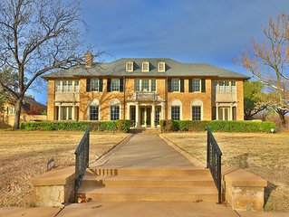 Historic & Luxurious Fulwiler House near Downtown Abilene