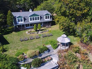 Waterfront home with 5 bedrooms~views, beach and more! Close to Acadia entrance!