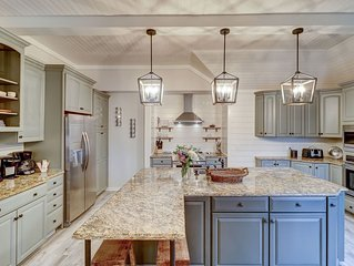 Unbeatable 5 BEDROOM Seabrook Island Home! Newly Updated!