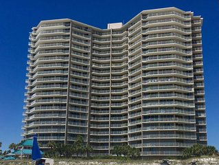 Dunes of Panama Large 3BR, All Rooms Gulf Front View, 55 feet of Balcony!