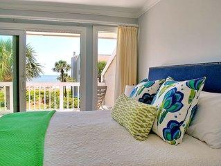 OCEANFRONT Villa with Screened Porch in Wild Dunes Resort!