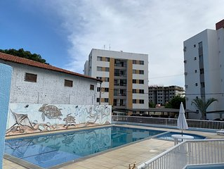 Apartamento com tres quartos, duas suites