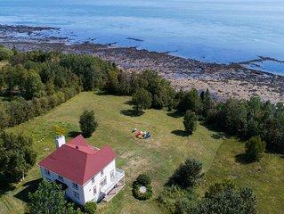 La Villa T , view belvedere