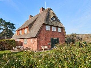 Ferienhaus unter Reet Suderhorn List / Sylt