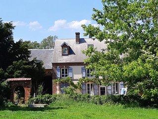 Location maison dans le VEXIN pres de Chaumont en Vexin 6 chambres 12 personnes