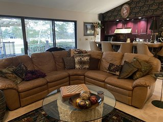 Snowbird/Alta minutes.  Luxury, View-filled Willow Creek  Country Club Home