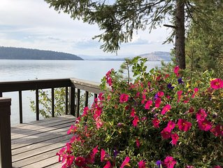 Waterfront Cabins, Rocky Point, Flathead Lake.