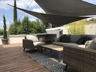 Villa Les Pierres d'Antan avec piscine et jacuzzi