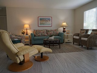 Peaceful resort condo on Sanibel's secluded west end B111