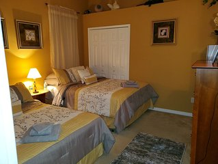Comfortable oasis 1 bedroom and 1 bathroom with private access