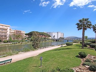 Appartement T4 - 6 personnes - Vue mer - Climatisation - WiFi - Piscine residenc