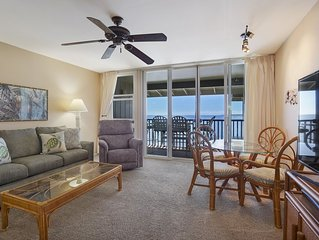 Stunning Oceanfront View  Top Floor Condo at Wailua Bay View Awaits You