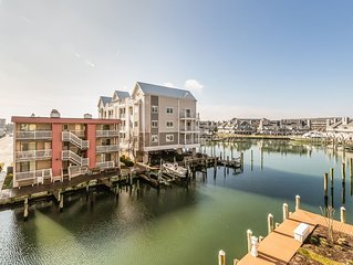 Amazing waterfront condo w/ fireplace, shared, indoor pool, & free WiFi