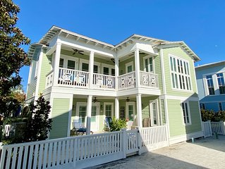 BEACHSIDE IN SEASIDE, GULF VIEWS, 3 Kings, great porches, Wave the Wheat
