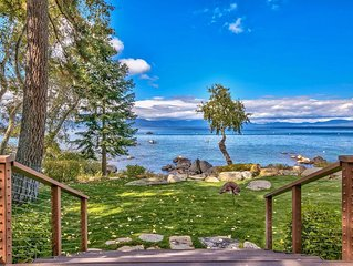 The backyard is Lake Tahoe! Luxe, Hot Tub, Gourmet Kitchen (NVH1428)