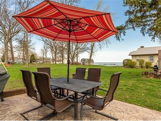 Lake Erie Views - Great for families - PRIVATE Neighborhood Beach/Park Access