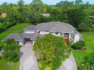 Luxury Wellington Mansion 5K SqFt near WEF & POLO