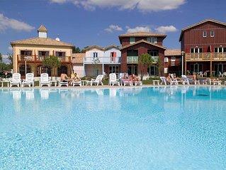 Vacances en famille Bassin d'Arcachon - joli Appartement 3 ch avec piscine