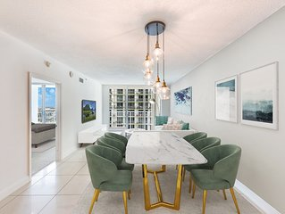 Luxury Living In The Heart Of Miami + City & Bayview