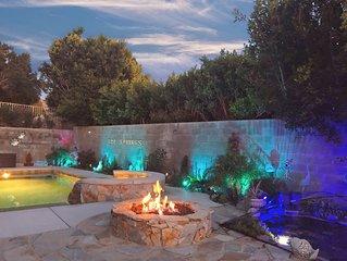 ★ Koi Springs ★ Private Salt-Water Pool and Spa