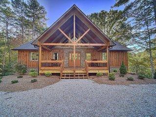Luxury Cabin Near Downtown Blue Ridge
