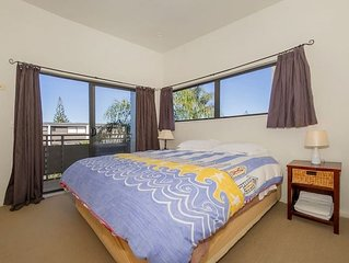 Villa 30 is a two bedroom apartment poolside in Whitianga